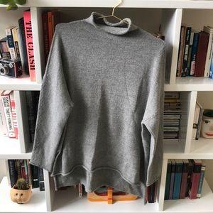 Lauren Manoogian Roll neck Grey Sweater 2